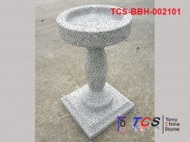 TCS-BBH-002101 Bird Bath G603 silver grey granite
