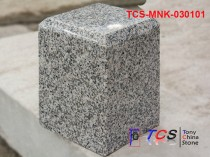 TCS-MNK-0301 Granite Flat Top Chamfered Post