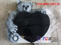 TCS-MNT-240110 Monument & Headstone Shanxi Black Granite