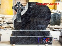 TCS-MNT-2601 Headstone & Monument with small Celtic Cross