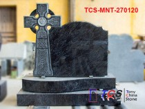 TCS-MNT-2701 Headstone & Monument with Celtic Cross