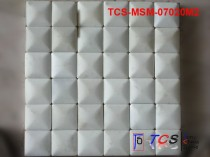 TCS-MSM-07020M2 Marble Mosaic 3D White Marble