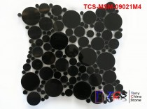 TCS-MSM-09021M4 Marble Mosaic  Black Marble