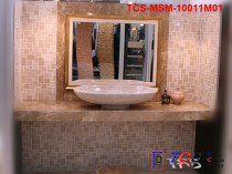 TCS-MSM-10011M01 Marble Mosaic  French Style