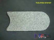 TCS-PAV-010107 Light Grey Granite G603 Shaped Paver