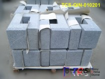 TCS-QIN-010201 Light Grey Granite G603 Quoin Sawn + Chamfer